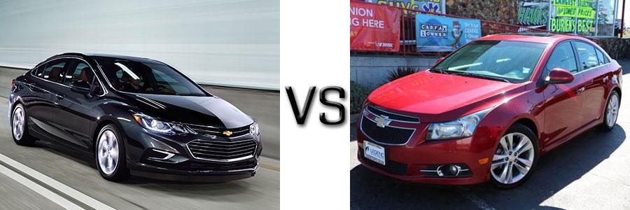 2016 Chevrolet Cruze vs 2011 Chevrolet Cruze