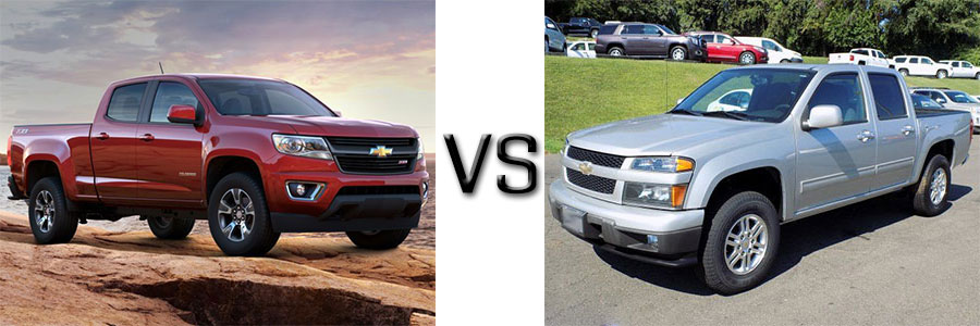 2016 Chevrolet Colorado vs 2010 Chevrolet Colorado
