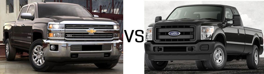 2015 Chevrolet Silverado 2500HD vs Ford F-250