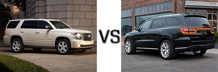 2015 Chevrolet Tahoe vs Dodge Durango