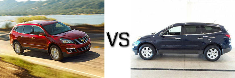 2016 Chevrolet Traverse vs 2010 Chevrolet Traverse