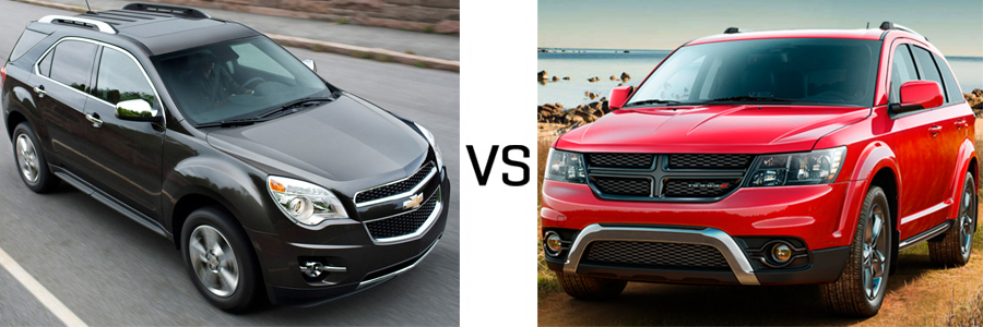 2015 Chevrolet Equinox vs Dodge Journey