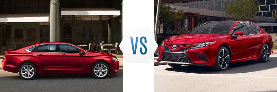 2020 Chevrolet Impala vs Toyota Camry