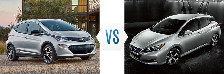 2020 Chevrolet Bolt vs Nissan Leaf