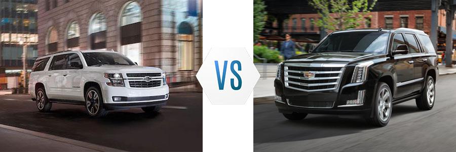 2020 Chevrolet Suburban vs Cadillac Escalade