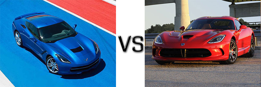 2016 Chevrolet Corvette vs Dodge Viper
