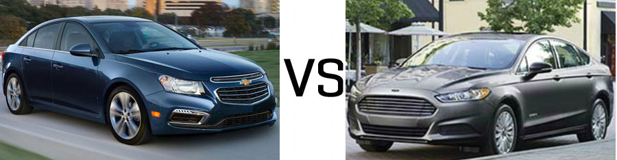 2015 Chevrolet Cruze vs Ford Fusion