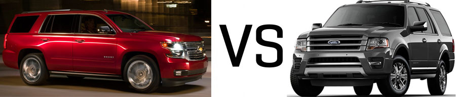 2015 Chevrolet Tahoe vs Ford Expedition