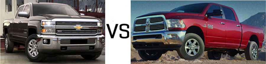 2015 Chevrolet Silverado 2500HD vs Dodge Ram 2500