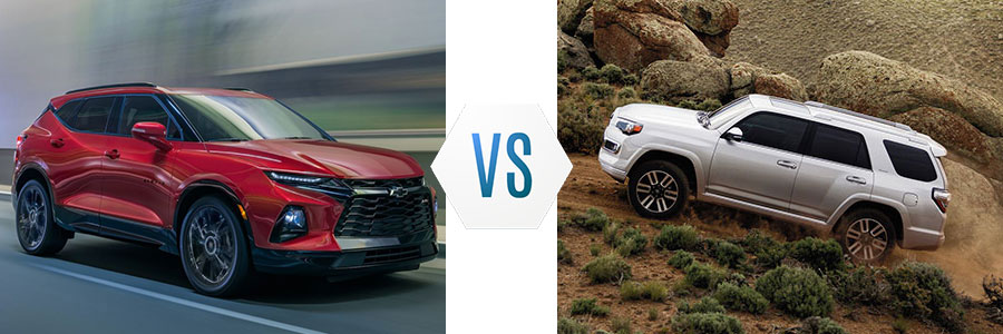 Chevrolet Blazer vs Toyota 4Runner