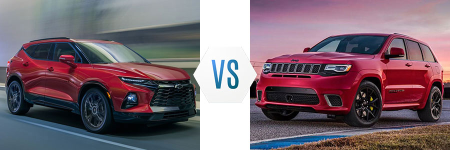 2020 Chevrolet Blazer vs Jeep Grand Cherokee