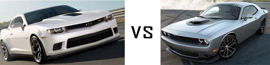2015 Chevrolet Camaro vs Dodge Challenger