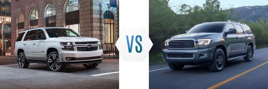 2020 Chevrolet Tahoe vs Toyota Sequoia
