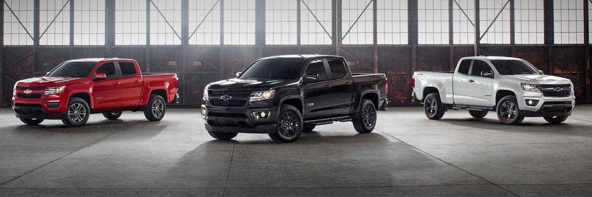 Chevrolet Colorado Special Editions