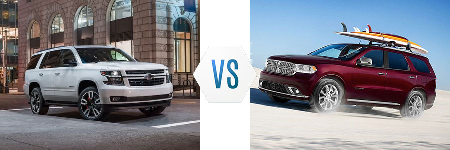 2020 Chevrolet Tahoe vs Dodge Durango