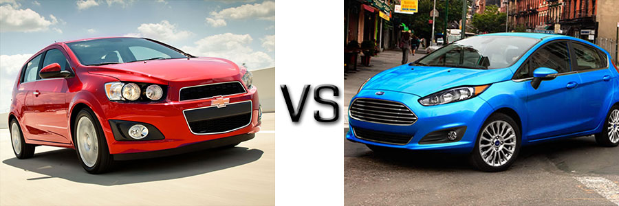 2015 Chevrolet Sonic vs Ford Fiesta