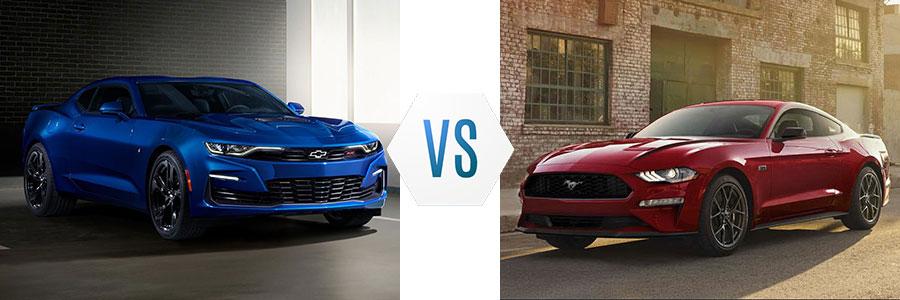 2020 Chevrolet Camaro vs Ford Mustang Ecoboost