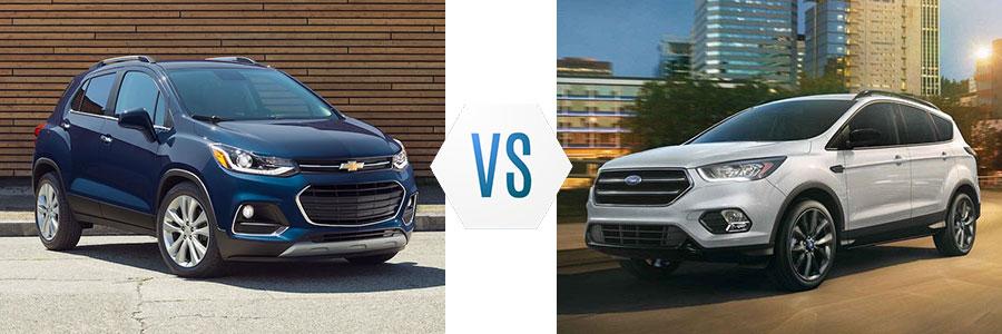 2019 Chevrolet Trax vs Ford Escape