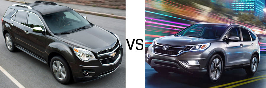 2015 Chevrolet Equinox vs Honda CR-V