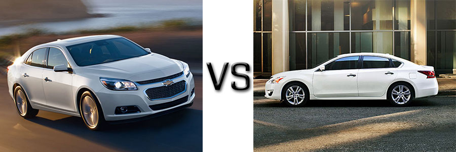2015 Chevrolet Malibu vs Nissan Altima