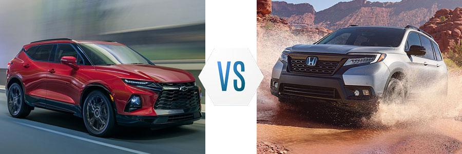 2020 Chevrolet Blazer vs Honda Passport