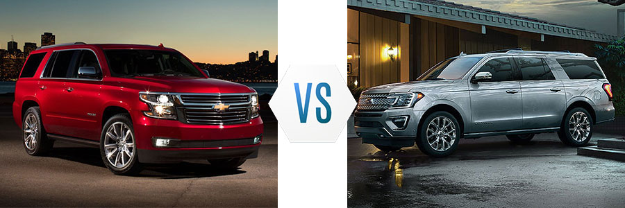 2019 Chevrolet Tahoe vs Ford Expedition