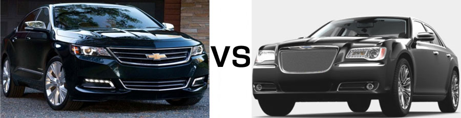 2015 Chevrolet Impala vs Chrysler 300