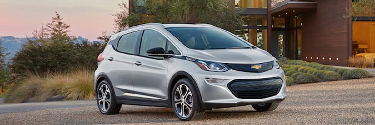 new Chevrolet Bolt EV