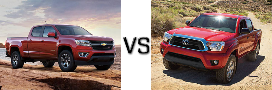 2015 Chevrolet Colorado vs Toyota Tacoma