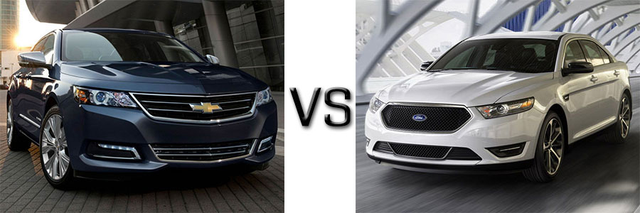 2015 Chevrolet Impala vs Ford Taurus