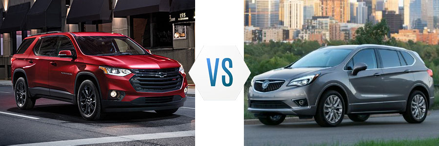 Chevrolet Traverse vs Buick Envision