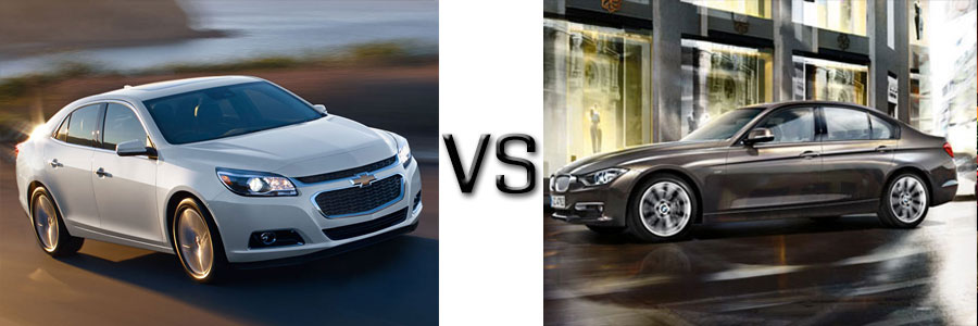 2015 Chevrolet Malibu vs BMW 3 Series