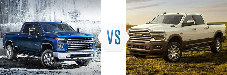 2020 Chevrolet Silverado 2500HD vs Ram 2500