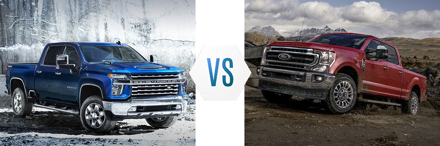 2020 Chevrolet Silverado 2500 HD vs Ford F-250