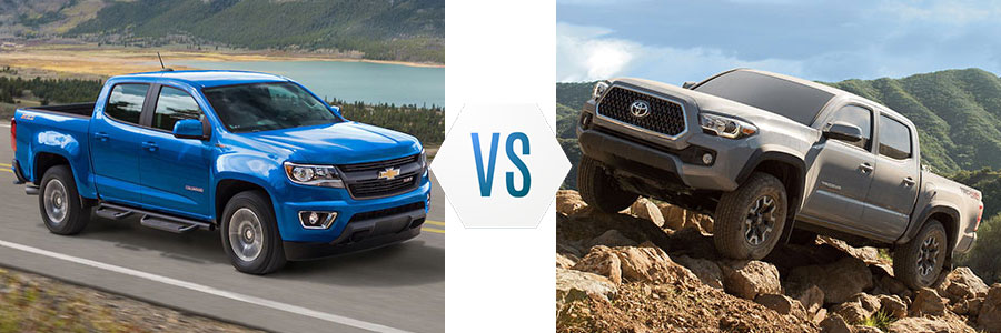 2019 Chevrolet Colorado vs Toyota Tacoma