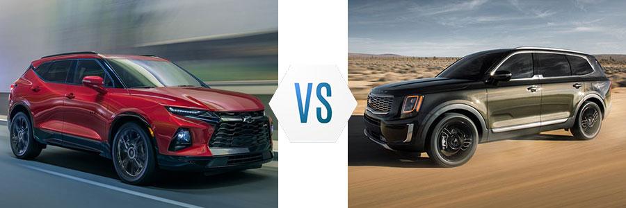 2020 Chevrolet Blazer vs Kia Telluride