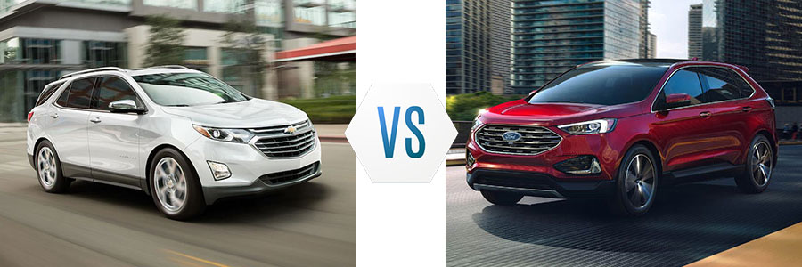 2019 Chevrolet Equinox vs Ford Edge
