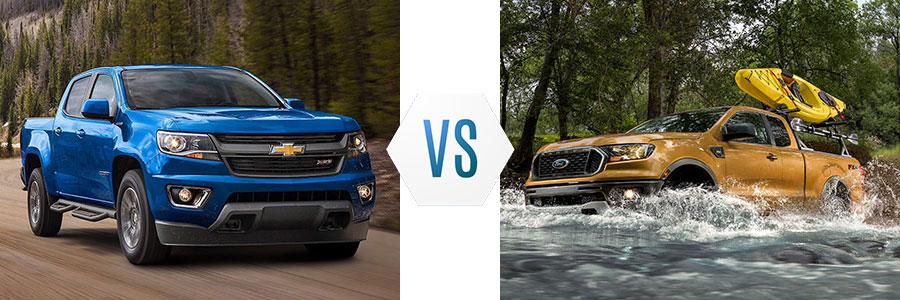 2020 Chevrolet Colorado vs Ford Ranger