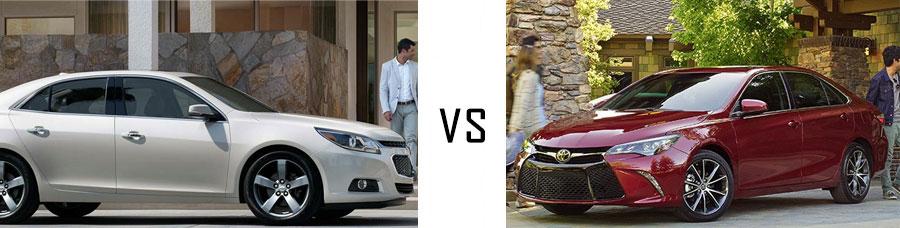 2015 Chevrolet Malibu vs Toyota Camry