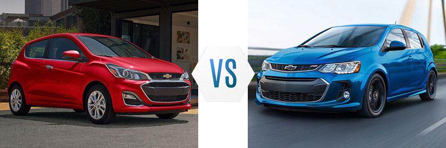 2020 Chevrolet Spark vs Sonic