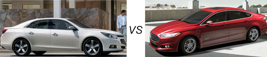 2015 Chevrolet Malibu vs Ford Fusion
