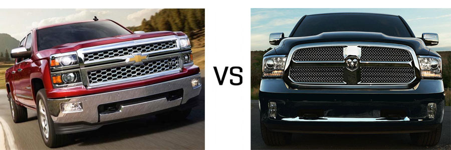 2015 Chevrolet Silverado 1500 vs Dodge Ram 1500