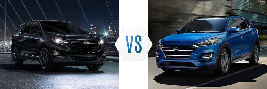 2020 Chevrolet Equinox vs Hyundai Tucson