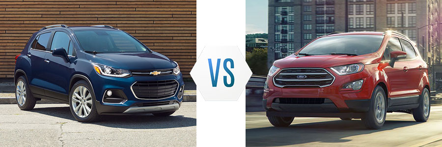 2019 Chevrolet Trax vs Ford EcoSport